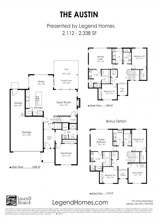 Floorplans layout
